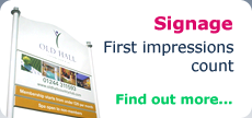 Signage - First impressions count - Find out more...