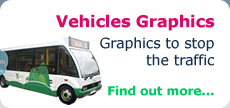 Vehicles Graphics - Graphics to stop the traffic - Find out more...